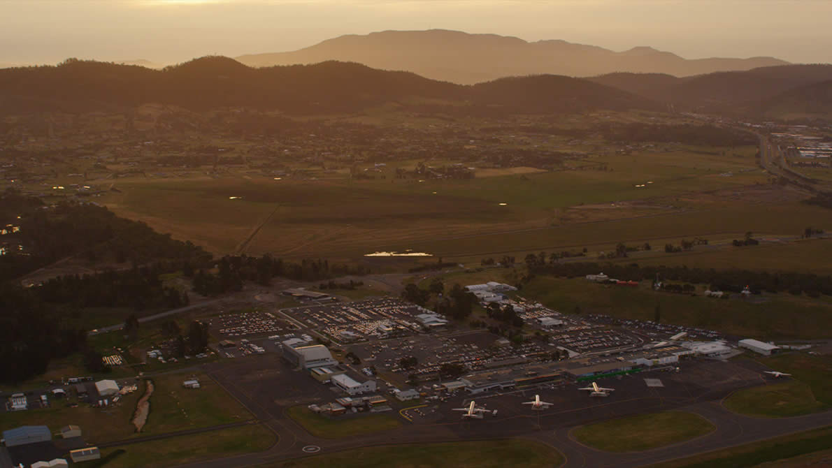 Welcome Home – Hobart International Airport